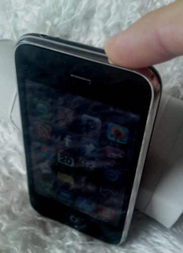 Guide: Ta screenshot/skärmdump med iPhone - Tryck in På/Av-knappen