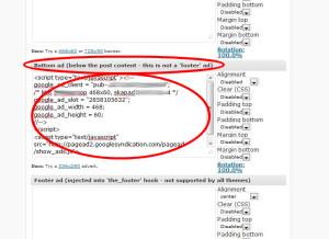 Klicka på Save all settings.